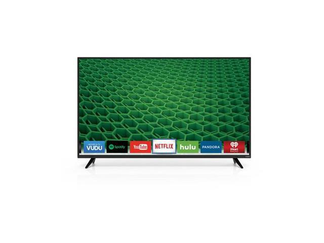 "VIZIO D50-D1 D-Series 50"" Class Full Array LED Smart TV (Black)"