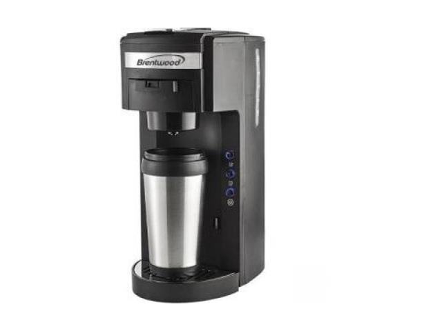 Brentwood Appliances TS-114 K-Cup Coffee Maker, White - Newegg.com