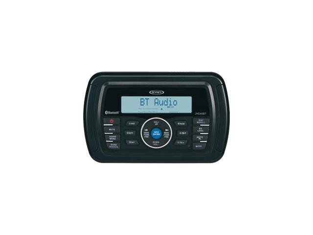JENSEN JHD40BTR AM/FM/WB/USB Bluetooth Stereo - Black
