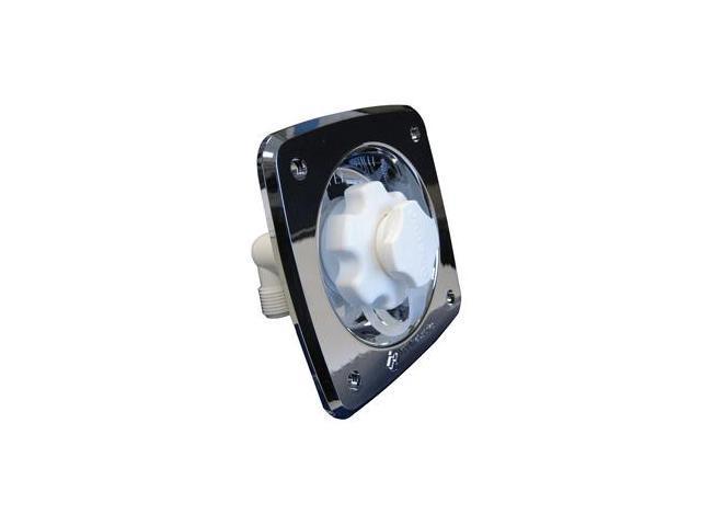 Jabsco Flush Mount Water Pressure Regulator 45psi - Chrome