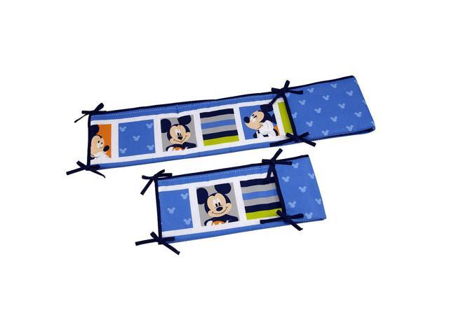 Disney Baby Mickey Mouse Secure-Me Crib Bumper