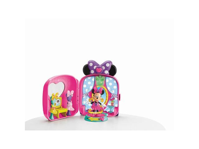 Fisher-Price Minnie Mouse Bow-tique Fashion On-the-Go Playset #zMC