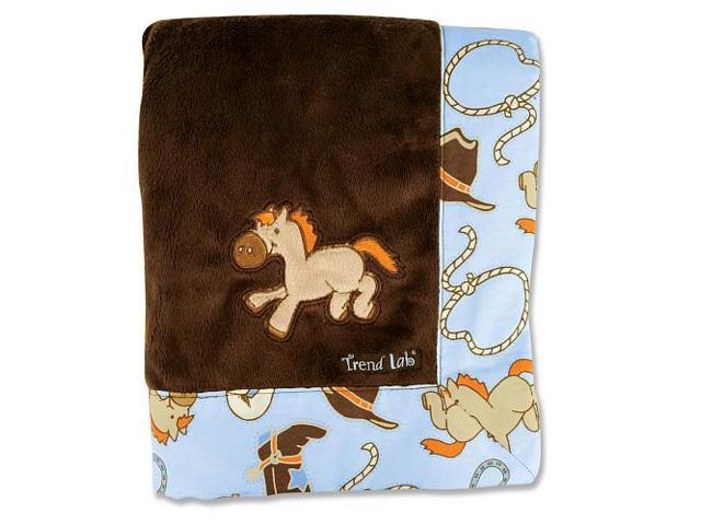 Trend Lab Receiving Blanket - Framed Cowboy Baby - 102177