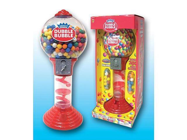 Sweet N Fun Double Bubble 24 Inch Metal Gumball Bank