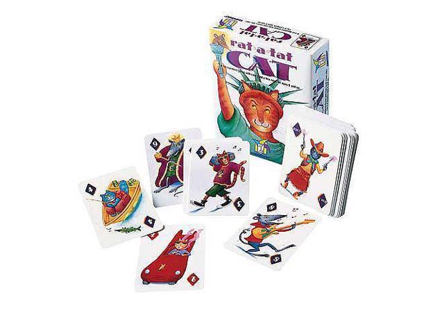 Rat-a-Tat Cat Numbers Card Game