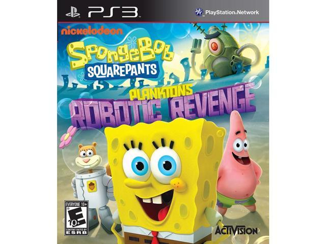 Spongebob Squarepants: Planktons Robotic Revenge for Sony PS3