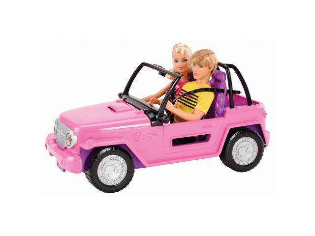 Barbie Beach Cruiser with Barbie & Ken Doll