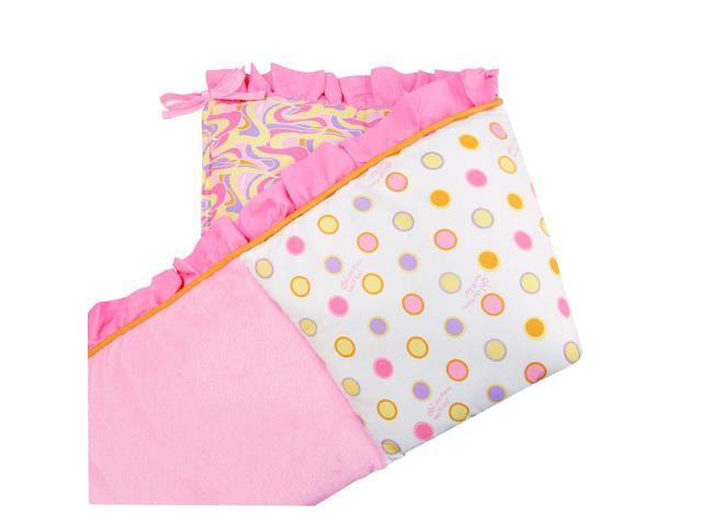 Trend Lab Dr. Seuss Pink Oh, the Places You'll Go! Crib Bumpers