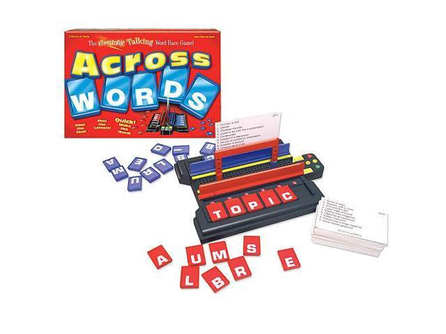 Across Words Talking Electronic Board Game