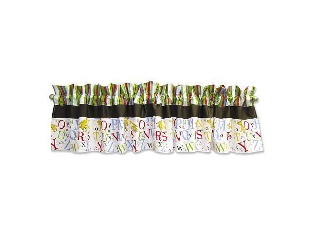 Trend Lab Dr. Seuss ABC Window Valance - 82