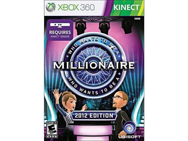 Who Want to be a Millionaire for Xbox 360 Kinect