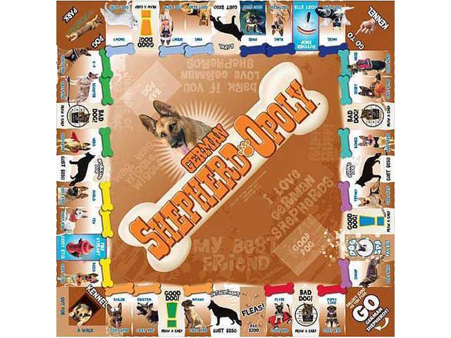 German Shepherd-opoly Board Game