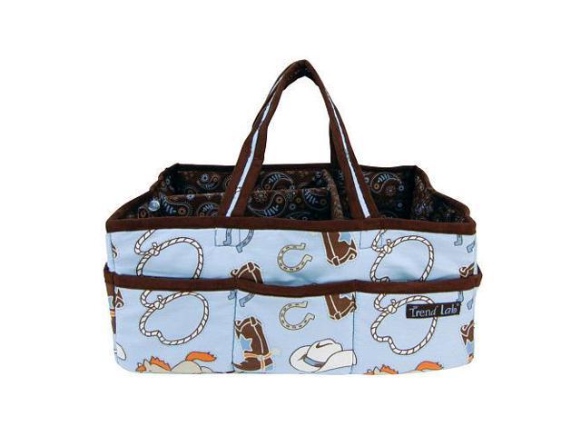Trend Lab Cowboy Baby Storage Caddy - Blue