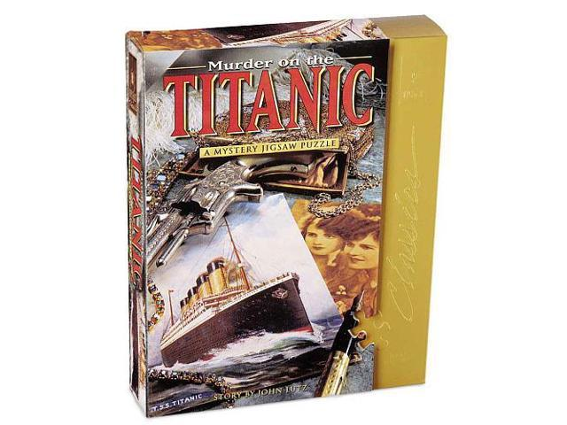 Murder on the Titanic Mystery Jigsaw Puzzle - 1000-Piece