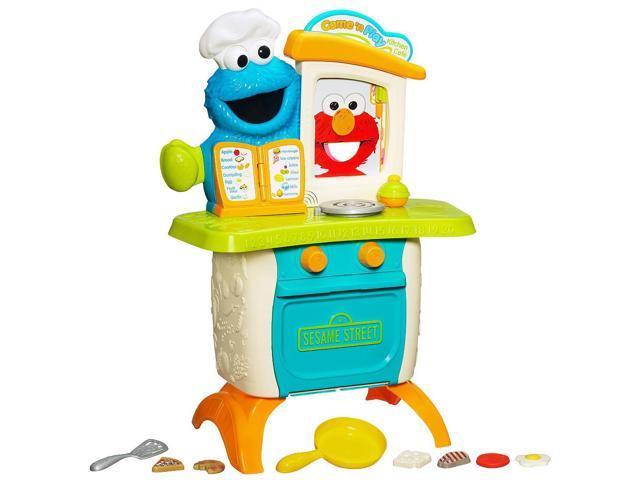 Playskool sesame street cookie monster kitchen cafe for Playskool kitchen set