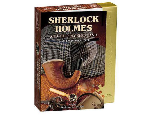 Sherlock Holmes & The Speckled Band Mystery Jigsaw Puzzle - 1000-Piece