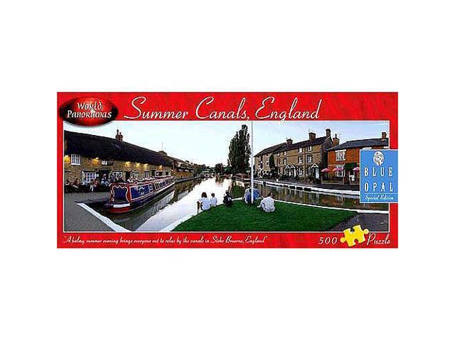 World Panoramas Jigsaw Puzzle 500-Piece - Summer Canals, England