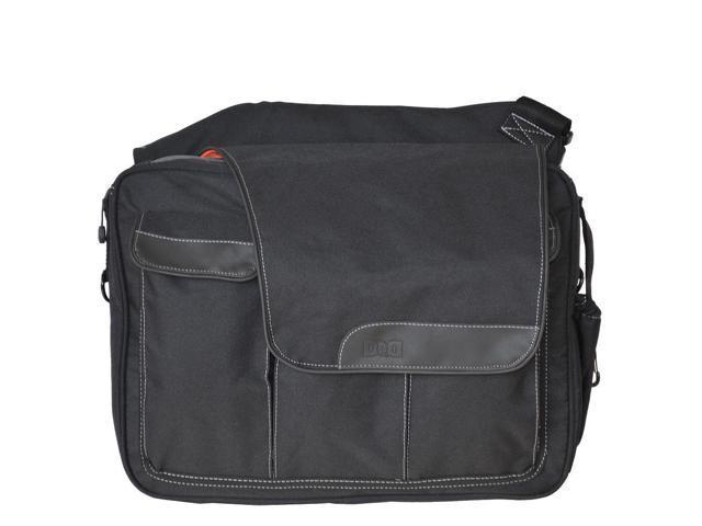 Diaper Dude Messenger II Diaper Bag - Black
