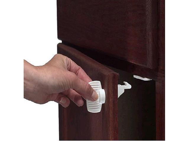 KidCo SecureStick Adhesive Mount Magnet Lock Set of 4 - Key Sold Separate