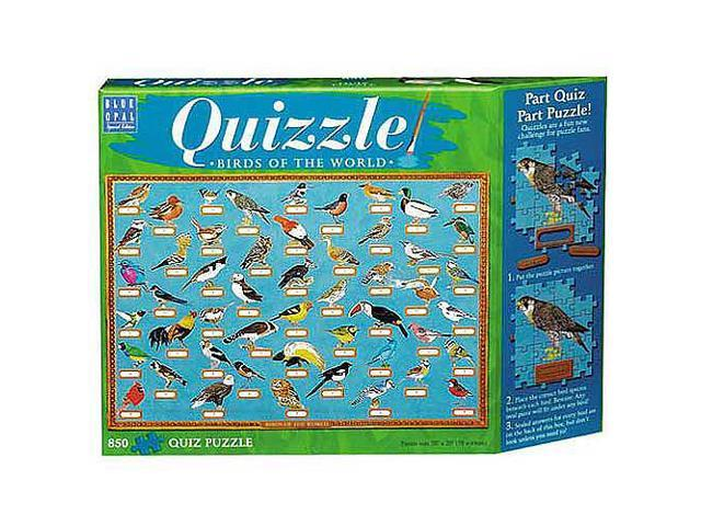 Quizzle - Birds of the World Jigsaw Puzzle - 850-Piece