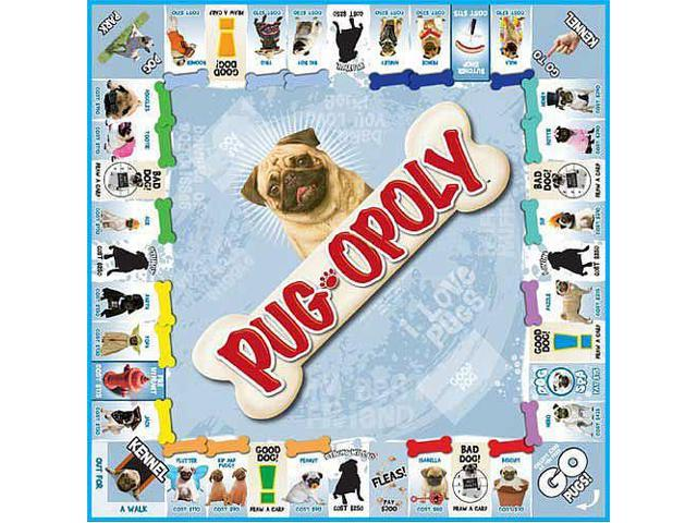 Pug-opoly Board Game
