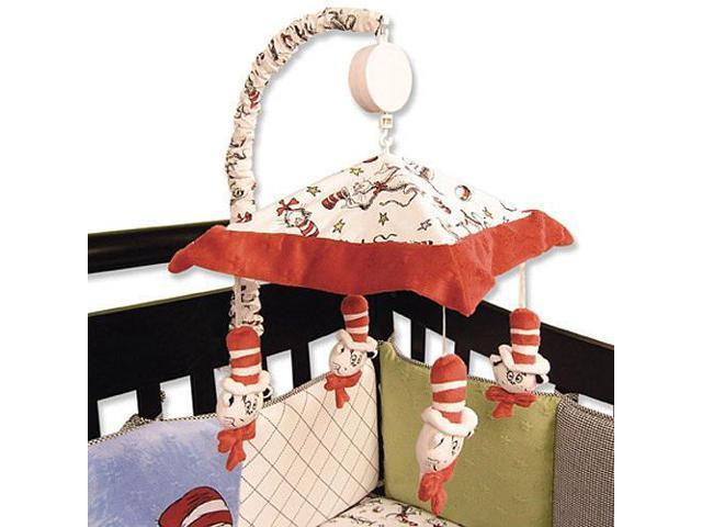 Trend Lab Dr. Seuss Cat in the Hat Mobile - Black and White