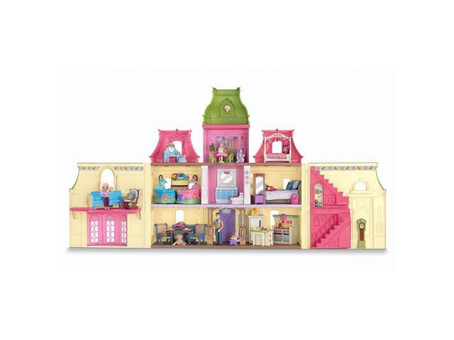 Fisher-Price Loving Family Dream Dollhouse Mega Set #zMC