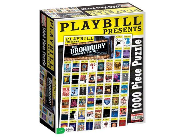 Playbill - Best of Broadway Jugsaw Puzzle: 1000 Pieces