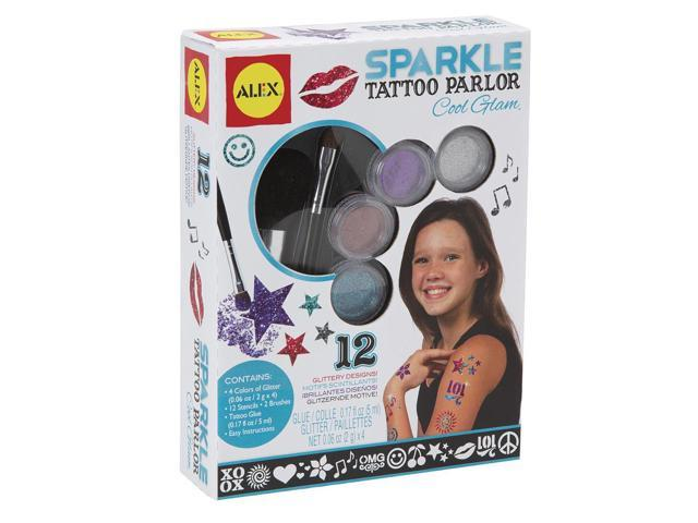 ALEX Toys Spa Sparkle Tattoo Parlor Cool Glam by Alex