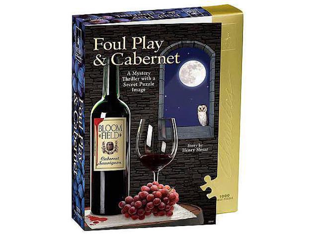 Foul Play & Cabernet 1000 Piece Puzzle by University Games