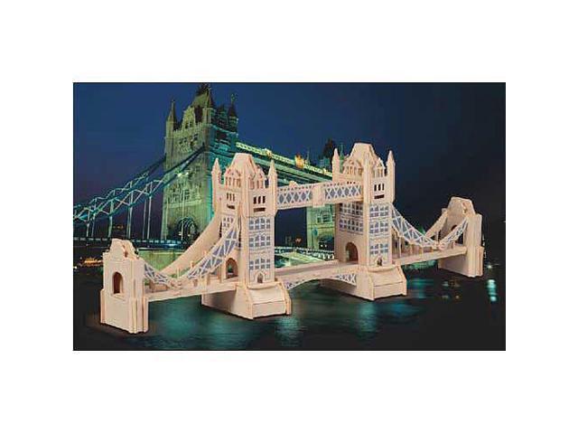 London Tower Bridge Wooden Puzzle
