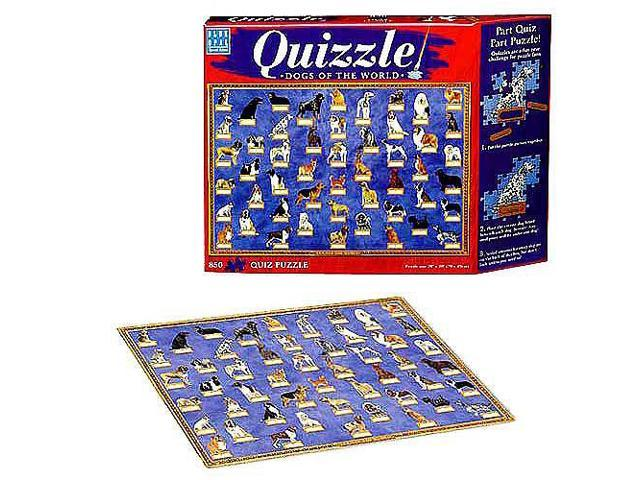 Quizzle - Dogs of the World Jigsaw Puzzle - 850-Piece