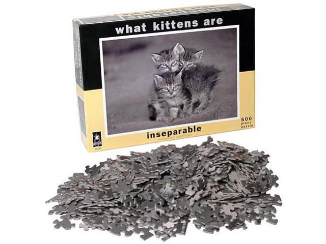 What Kittens Are - Inseparable Jigsaw Puzzle - 500-Piece