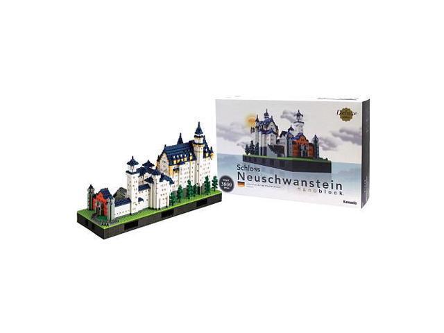 NanoBlock Deluxe Edition Neuschwanstein Castle #zMC