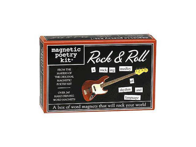 Magnetic Poetry Kit - Rock & Roll Edition