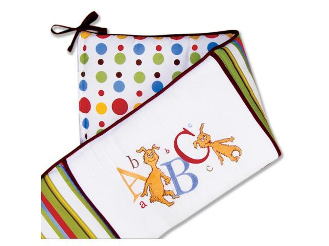 Trend Lab Dr. Seuss ABC Crib Bumpers - Red/Blue/Green