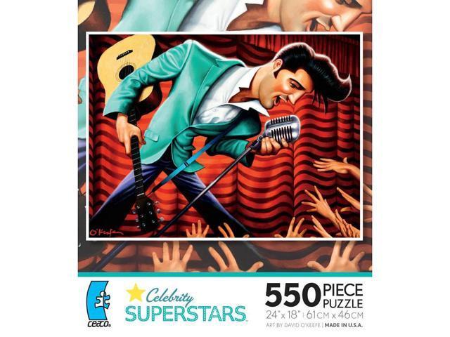 Elvis: 550 Pcs