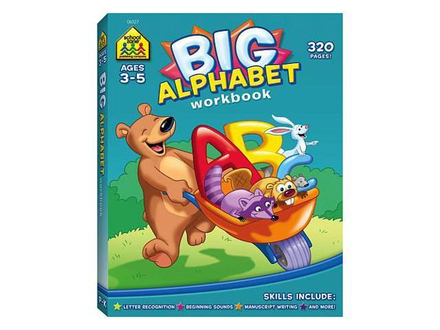 School Zone Big Get Ready Books: Big Alphabet Workbook