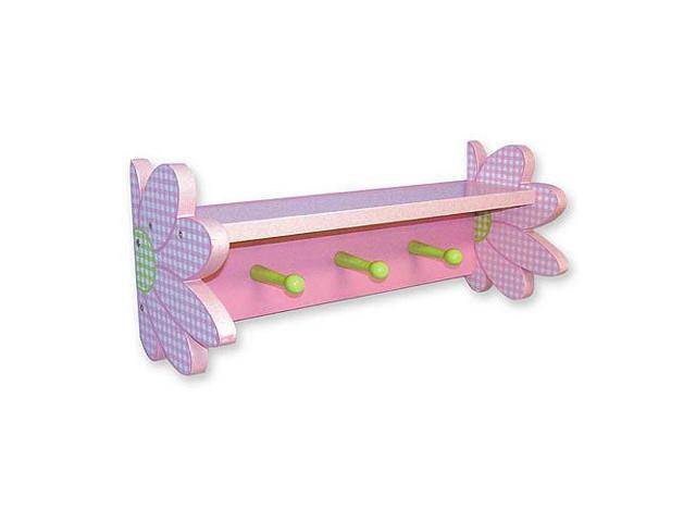 Trend Lab Darling Daisy Shelf with Peg Hooks