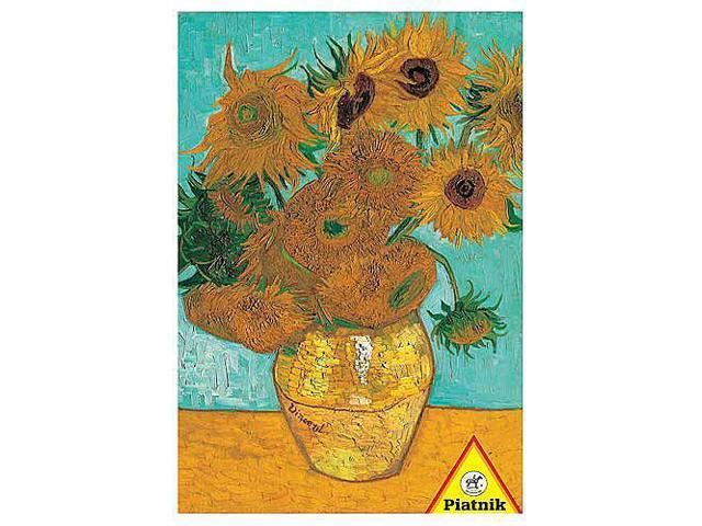 Van Gogh Vase with Sunflowers Jigsaw Puzzle - 1000-Piece