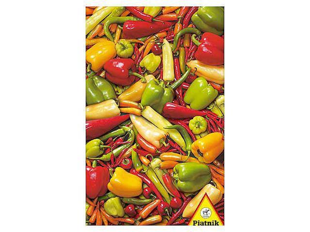 Peppers & Chillies Jigsaw Puzzle - 1000-Piece