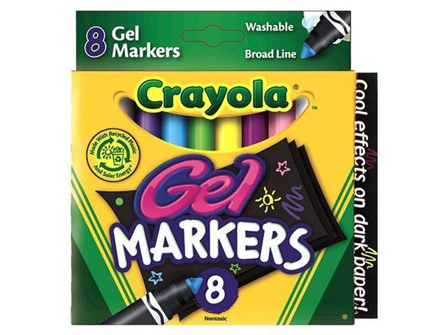 Crayola Washable Gel Markers - 8-Pack