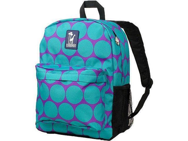 Wildkin Crackerjack Backpack - Big Dots Aqua