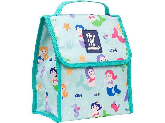 Wildkin Munch 'n Lunch Bag - Olive Kids Mermaids