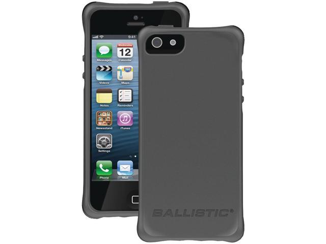 BALLISTIC LS0955-M145 iPhone(R) 5 LS Smooth Case (Charcoal with 4 Orange, 4 Charcoal, 4 Black, 4 Teal Bumpers)
