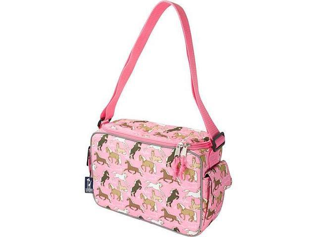 Wildkin Keep it Cooler Lunch Box - Horses in Pink