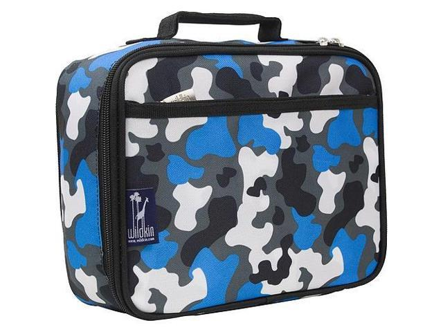 Wildkin Lunch Box - Blue Camouflage