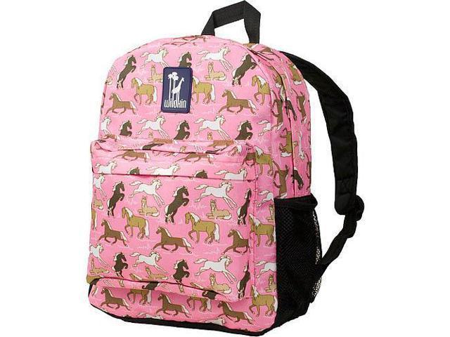 Wildkin Crackerjack Backpack - Horses in Pink