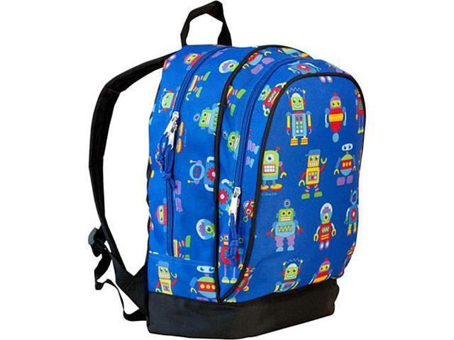 Wildkin Sidekick Backpack - Olive Kids Robot