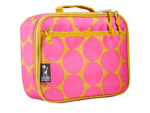 Wildkin Lunch Box - Hot Pink Big Dots